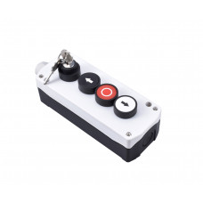 Push Button with Lock – Triple